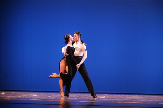 """北京舞蹈学院国标_2017""""学院奖""""国际标准舞比赛_北京舞蹈学院国际标准舞系"""